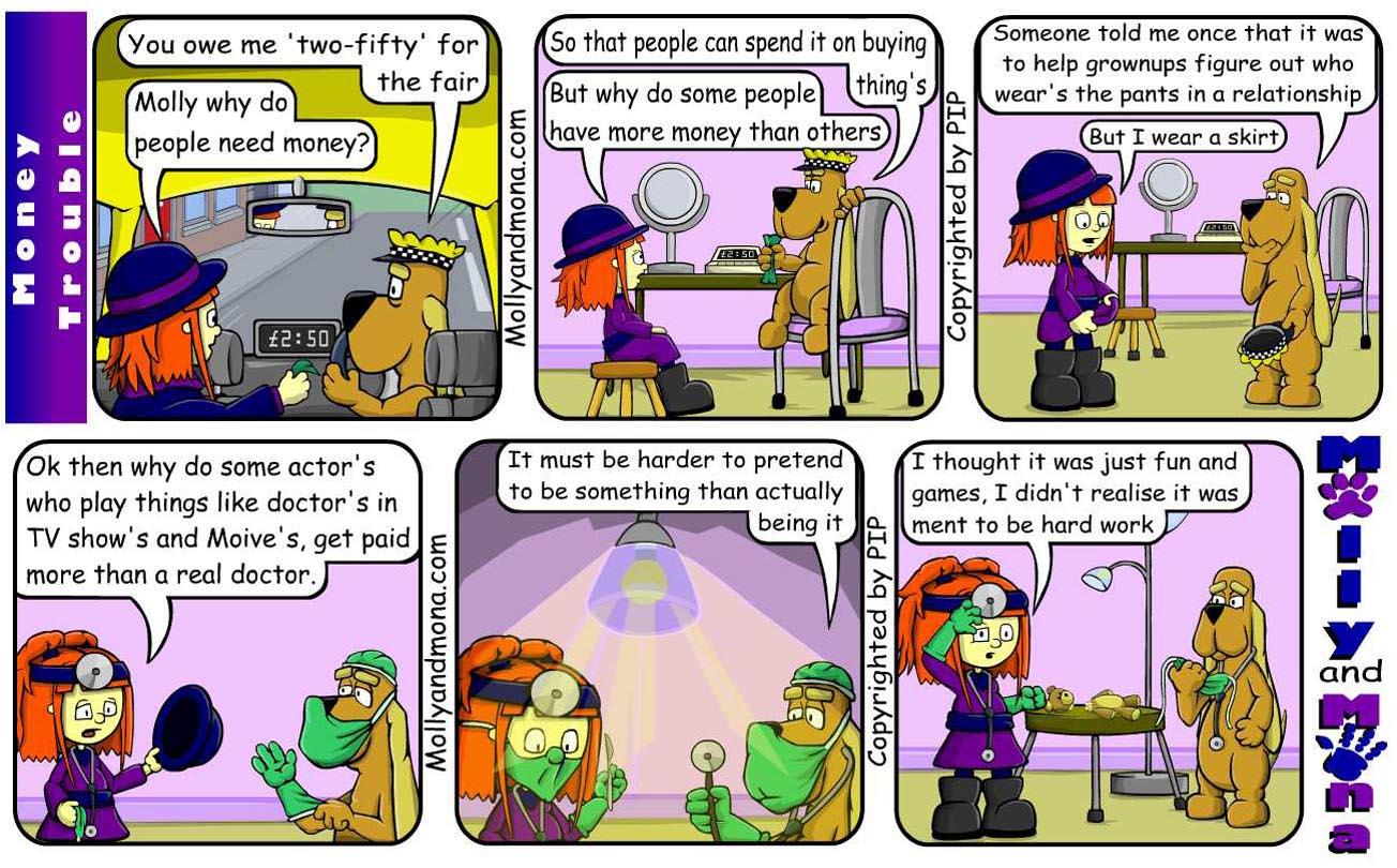 MandM - Autumn Comic 7 - Money trouble