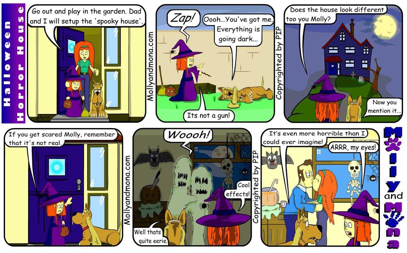 MandM - Autumn Comic 10 - Halloween Horror House