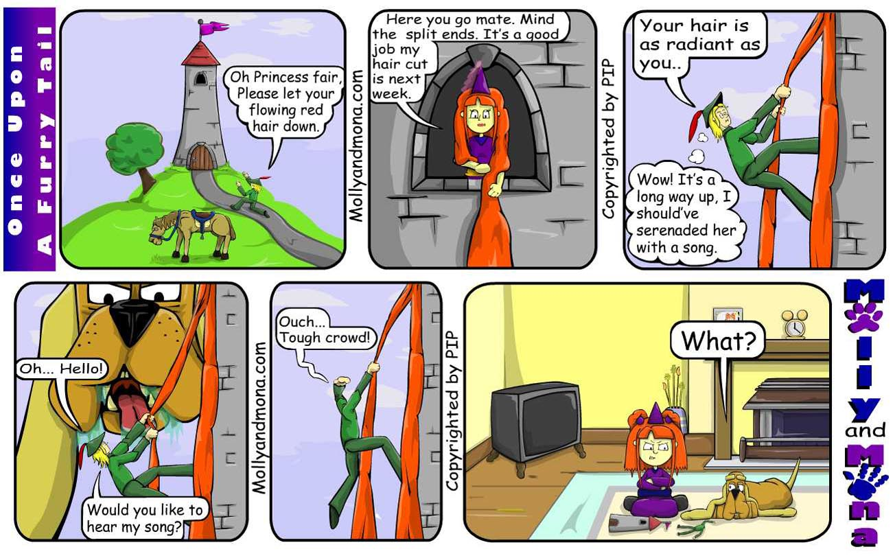 MandM - Spring Comic 4 - Once upon a furry tail