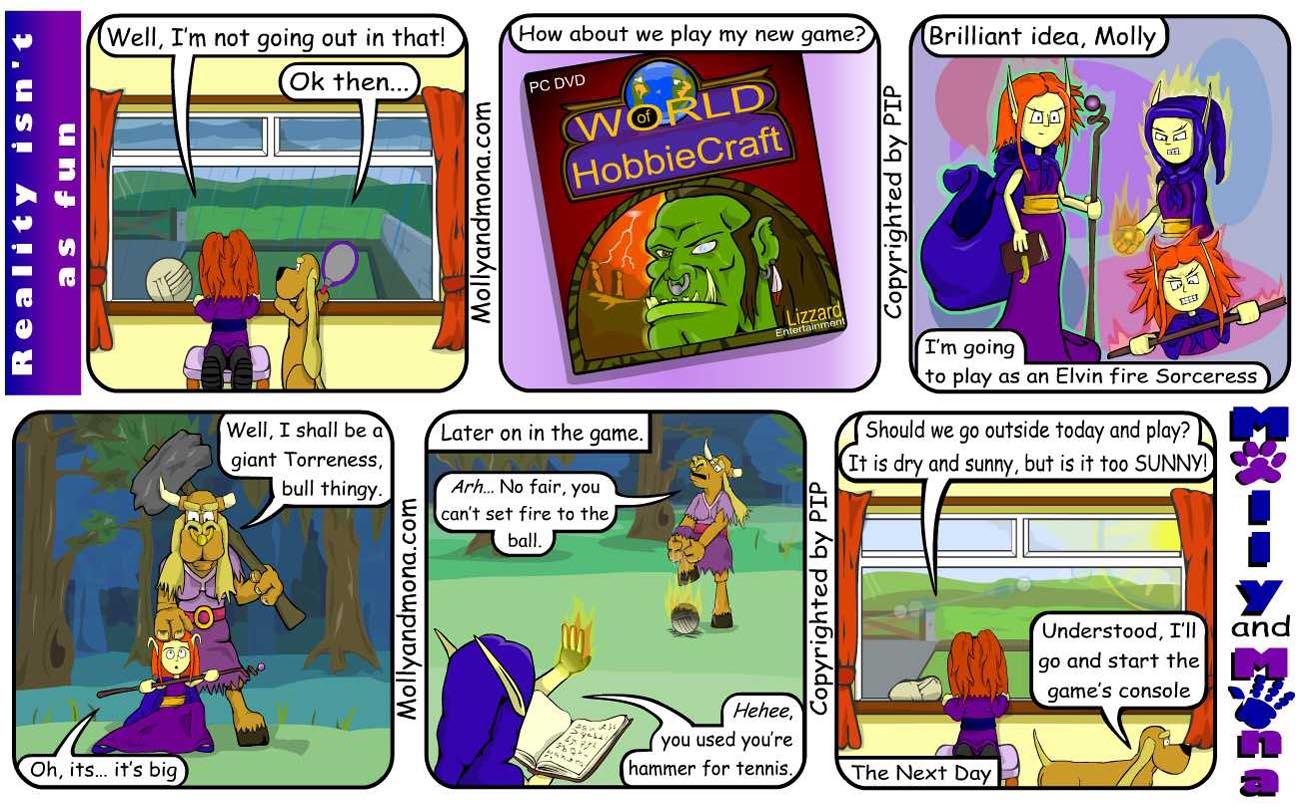 MandM - Spring Comic 9 - Reality isn't as fun